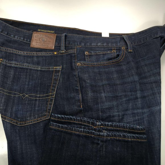 Lucky Brand Other - Lucky 361 Vintage Straight Mens Blue Jeans 42×34